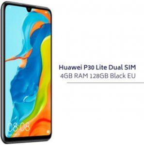 Huawei P30 Lite Dual Slim 4GB RAM 126GB BLACK EU