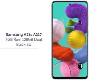 Samsung A21s A217 4GB Ram 128GB Dual Black EU